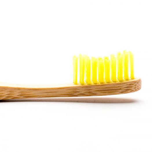 Humble Brush mäkká zubná kefka – Toothbrush Adult - Yellow – Soft