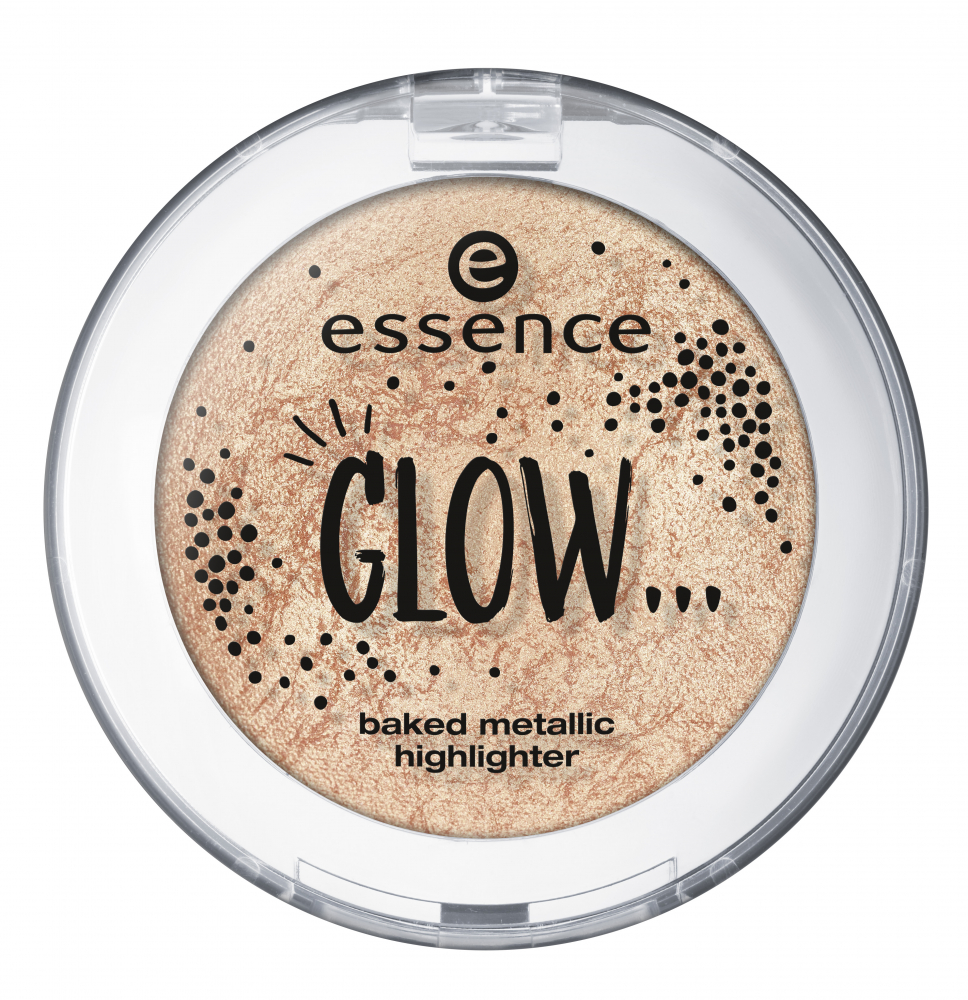 essence kompaktni osvetljevalec - Glow... Baked Metallic Highlighter - 01 ...Like Everything Is All Right