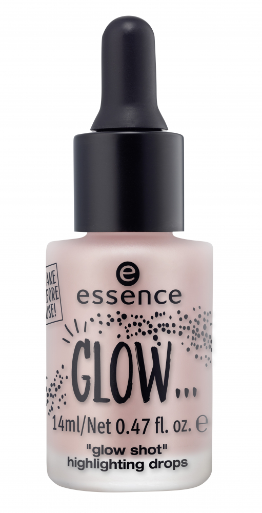 essence iluminator lichid - Glow... Glow Shot Highlighting Drops - 01 ...Like It's Your First Kiss