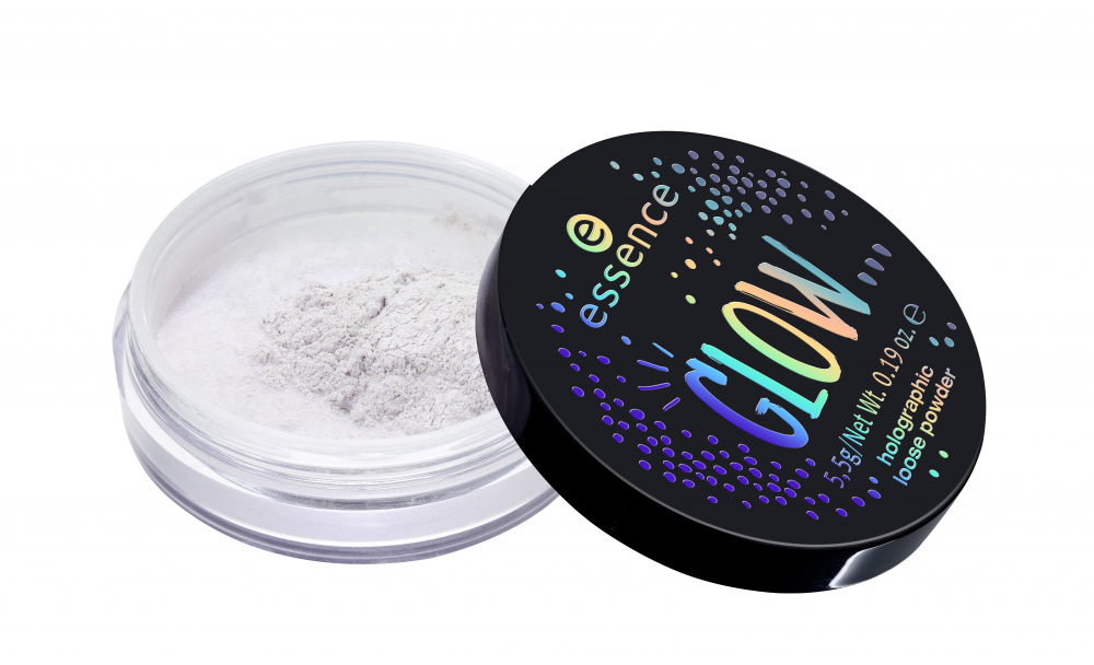 essence pudra pulbere holografica - Glow... Holographic Loose Powder - 01 ...Like You're A Star