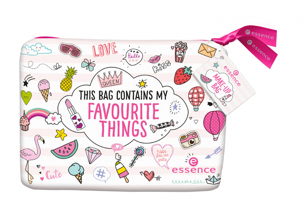 essence kozmetična torbica - Cosmetic Bag - Favourite Things