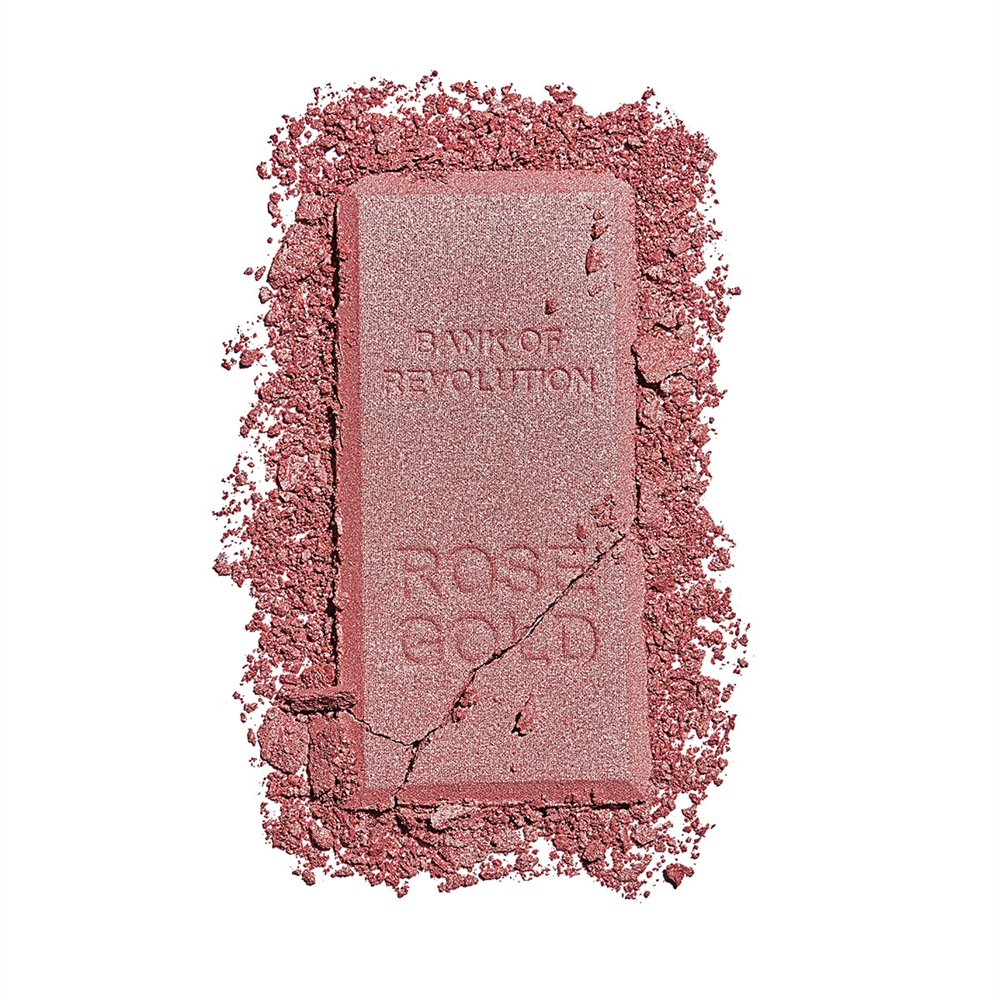 Revolution Ingot Highlighter kompakt highlighter - Rose Gold