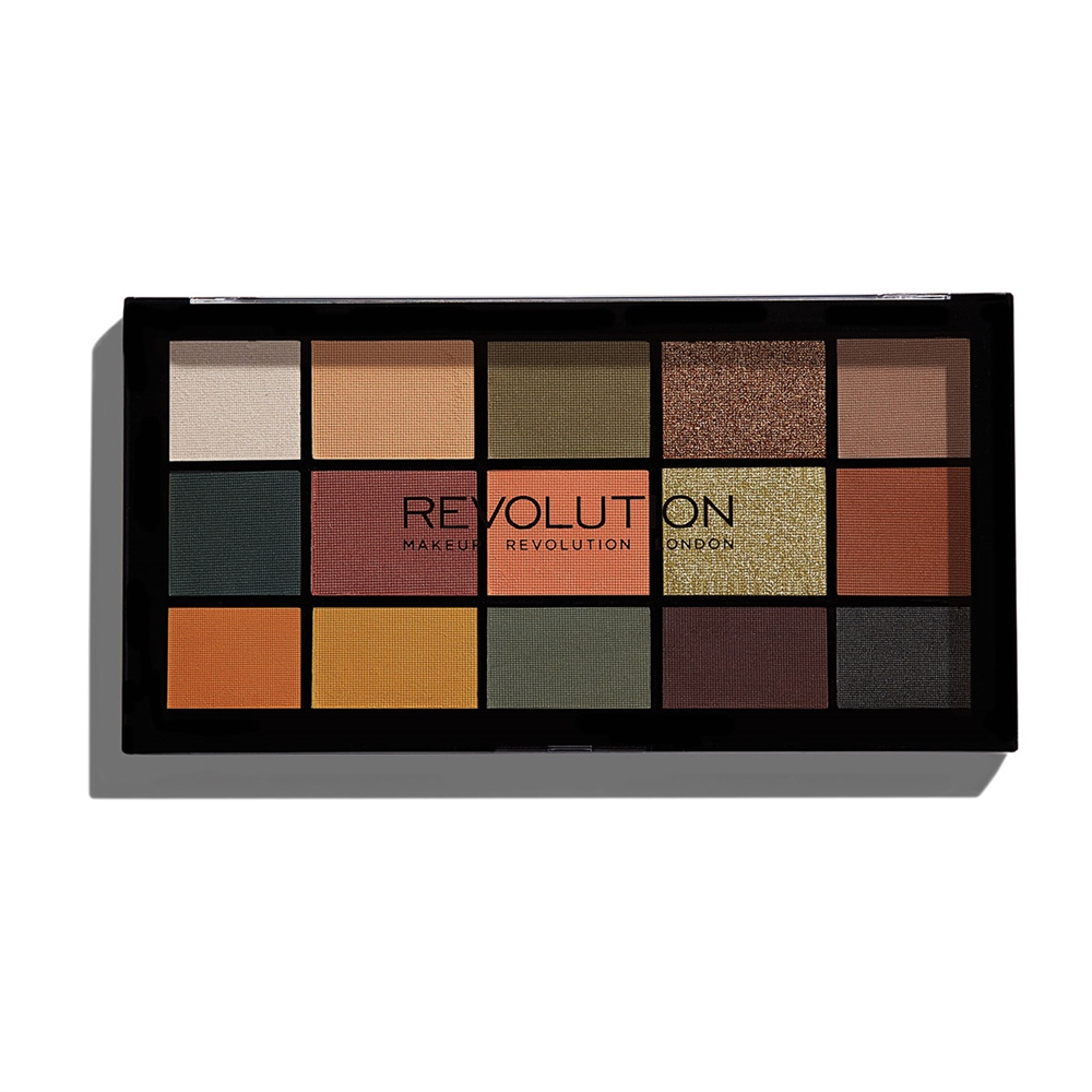 Makeup Revolution paletka očných tieňov - Re-Loaded Palette - Iconic Divison