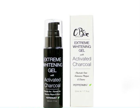 The Cougar Beauty gél na bielenie zubov – Extreme Whitening Gel With Activated Charcoal 50ml