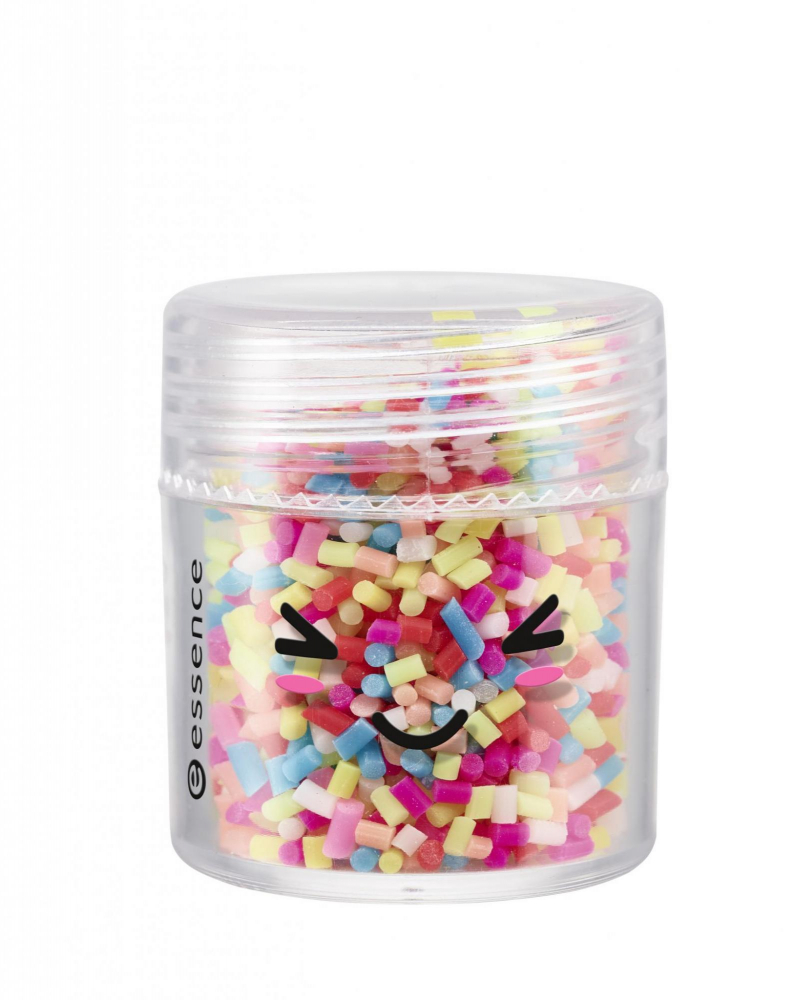 essence Happy Kawaii 3D Nail Topping Sprinkles körömmatricák - 01 Life Is Better With Sprinkles