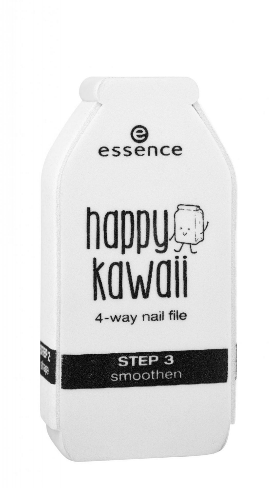 essence lime à ongles - Happy Kawaii Nail File - 01 What Do You Milk?