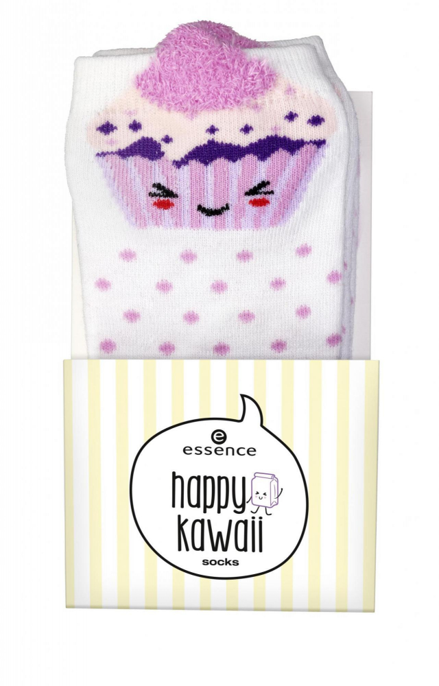 essence calzini - Happy Kawaii Socks - 01 Muffin Compares To You