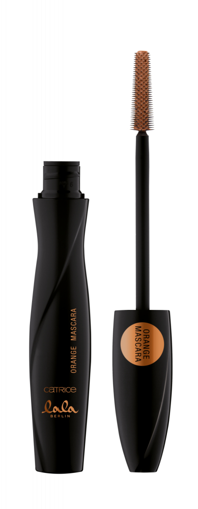 CATRICE mascara portocaliu – Glam & Doll Orange Mascara LalaBerlin – 010 Orange Punk