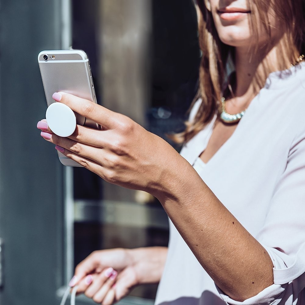 Popsockets mobil tartó - Black Metallic Diamond