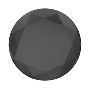 PopSockets pripomoček za telefon - Popsockets - Black Metallic Diamond