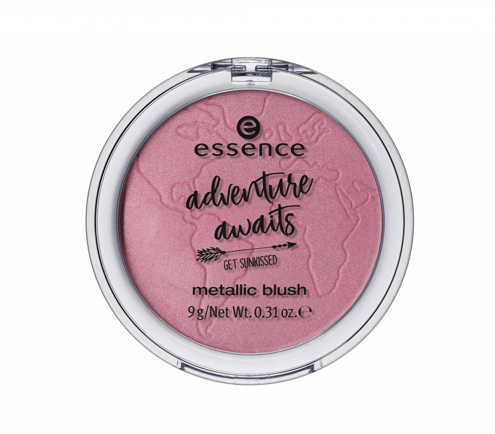 essence руж за лице - Adventure Awaits - Metallic Blush - 02 Say Hi To The World!