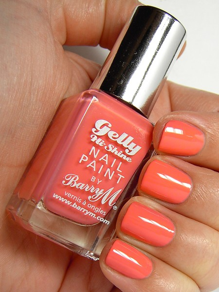 Barry M Gelly Effect lak za nohte - Papaya