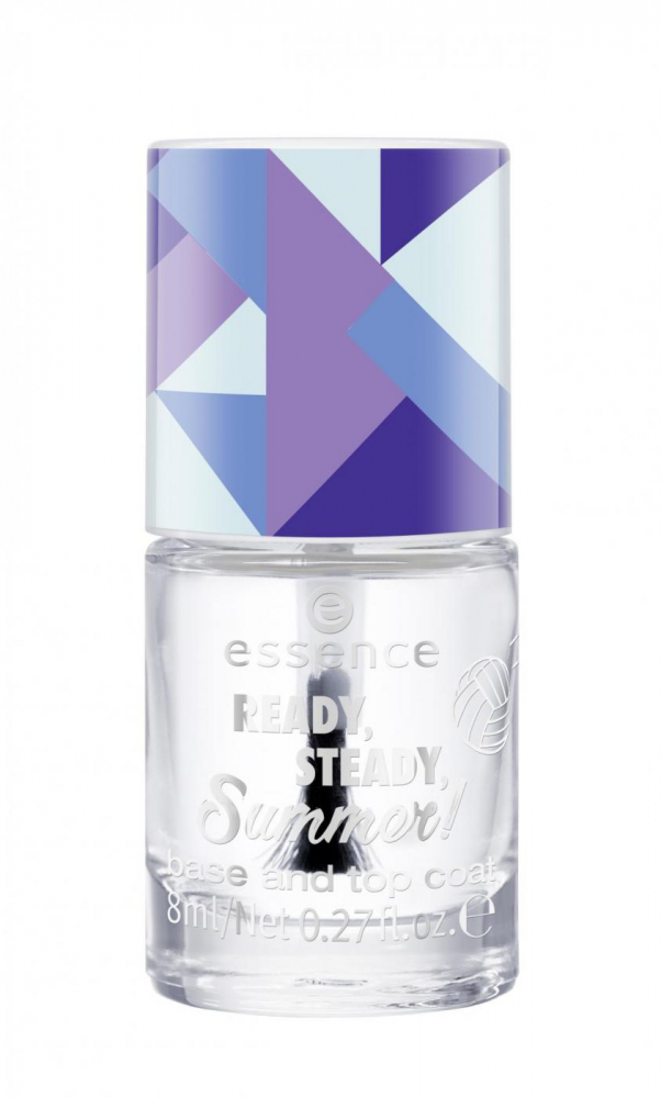 essence lac de unghii - Ready, Steady Summer - Base And Top Coat - 01 Go Hard Or Go Home