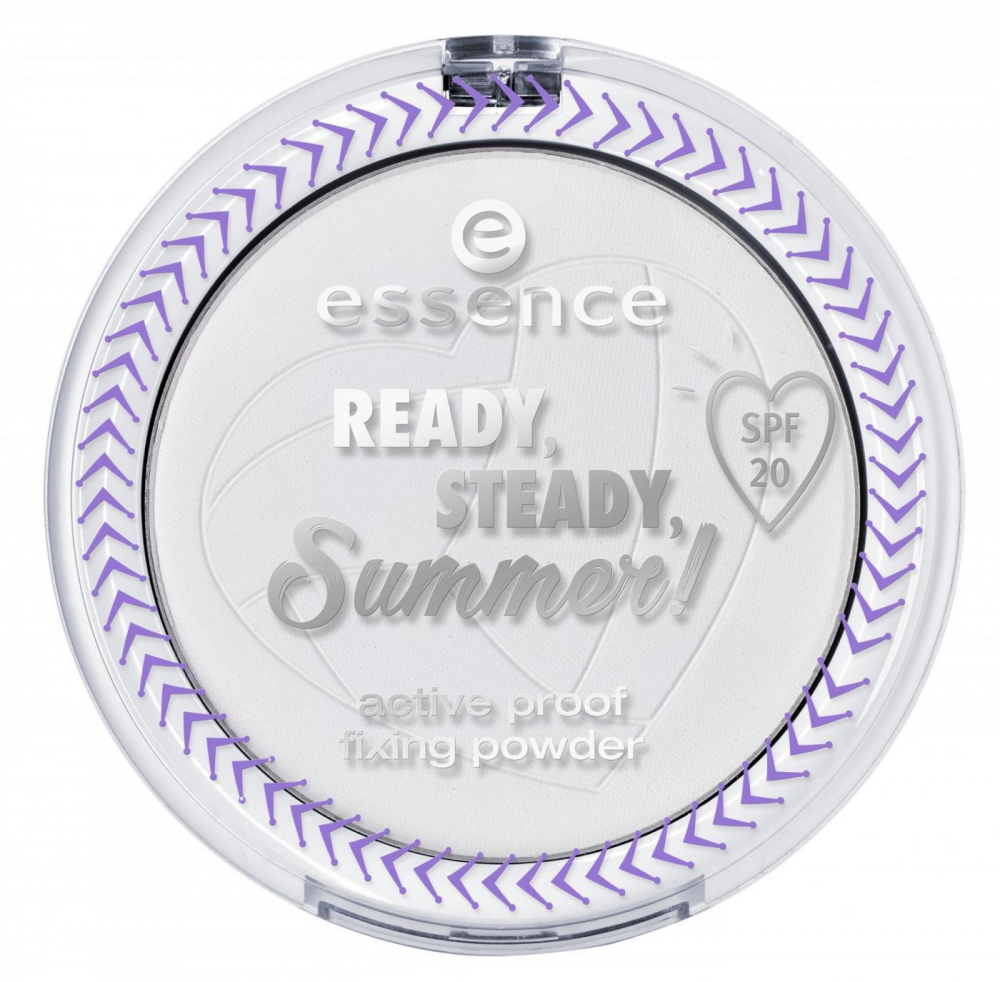 essence Fixierpuder - Ready, Steady Summer - Active Proof Fixing Powder - 01 The Summer Is Yours