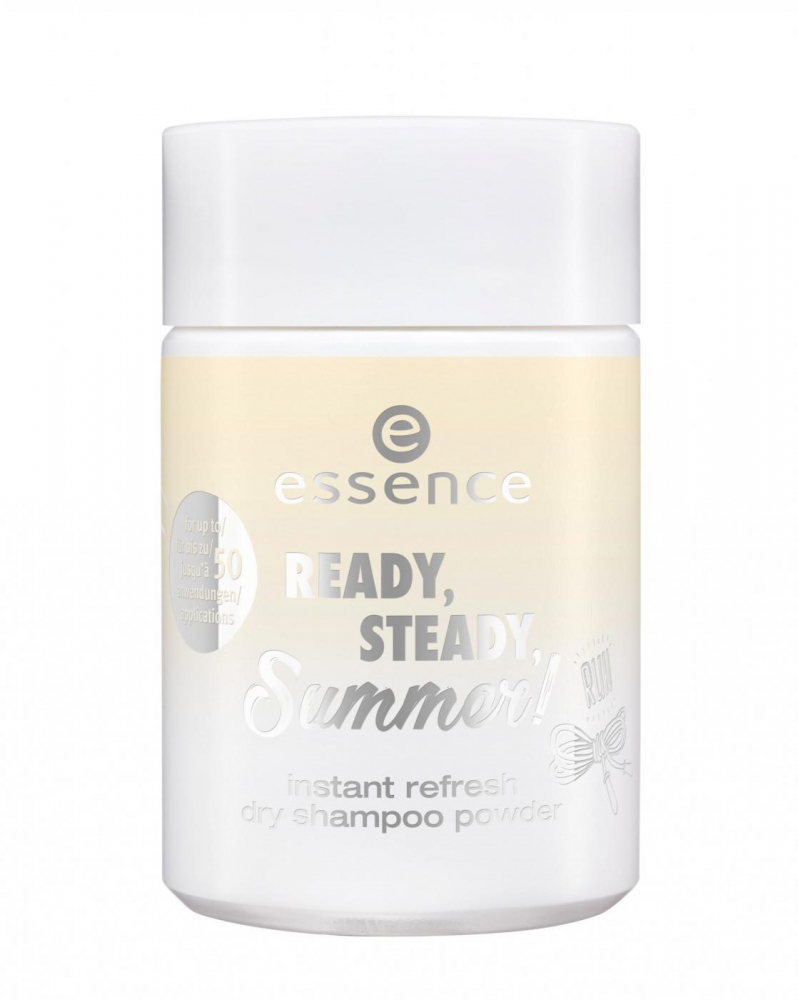 essence освежаващ сух шампоан за коса - Ready, Steady Summer - Instant Refresh Dry Shampoo Powder - 01 Fit Is The Hit