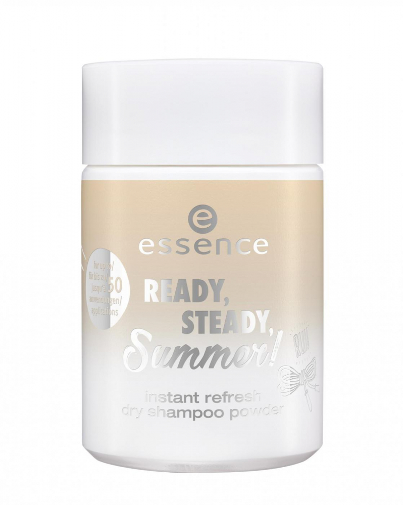 essence освежаващ сух шампоан за коса - Ready, Steady Summer - Instant Refresh Dry Shampoo Powder - 02 The Winner Side Of Life