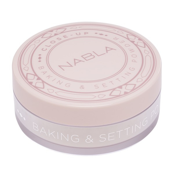 Nabla pudra pulbere - Close-Up Baking & Setting Powder - Translucent
