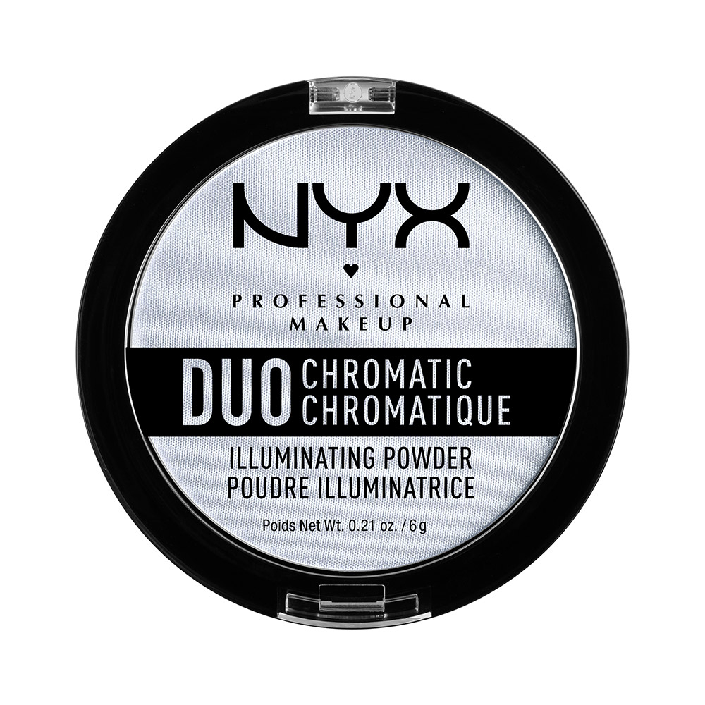 NYX Professional Makeup kompaktni osvetljevalec - Duo Chromatic Illuminating Powder – Twilight Tint (DCIP01)