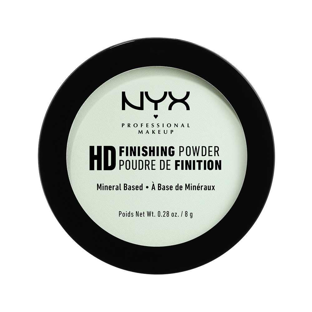 NYX Professional Makeup - High Definition Finishing Powder – Mint Green (HDFP03)