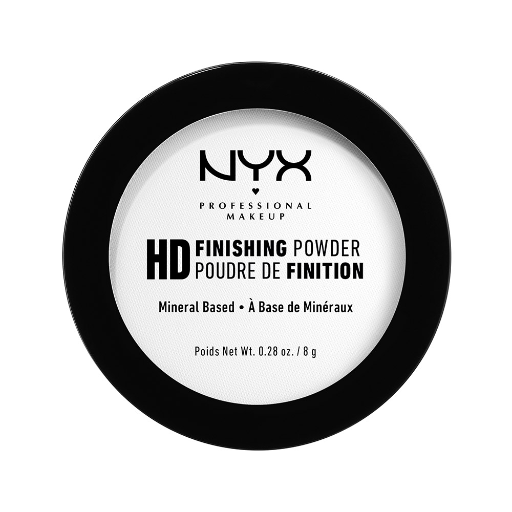 NYX Professional Makeup zaključni puder - High Definition Finishing Powder – Translucent (HDFP01)