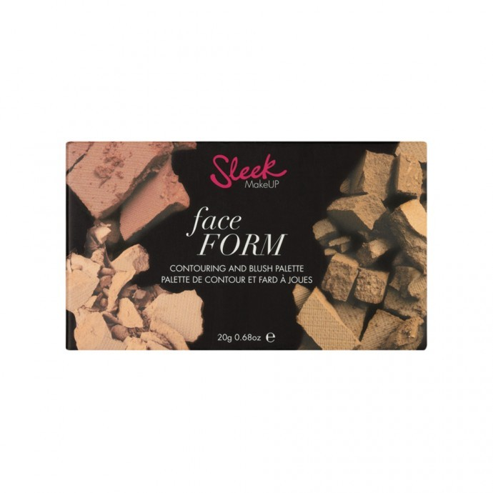 Sleek Face Form - Contouring, Highlighting and Blush - Fair