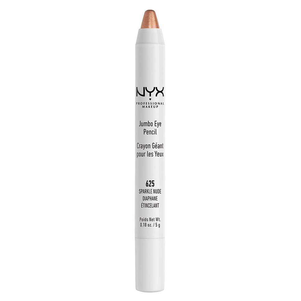 NYX Professional Makeup kremno senčilo - Jumbo Eye Pencil – Sparkle Nude (JEP625)