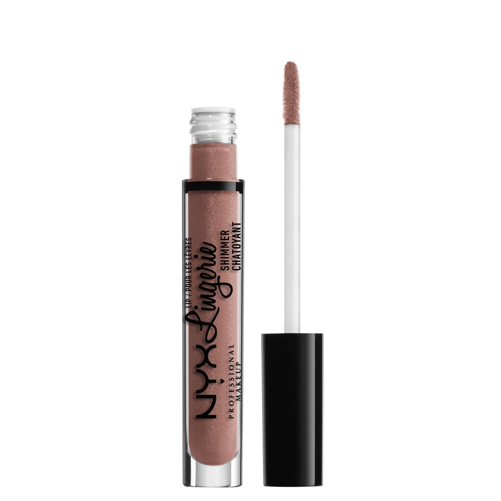 NYX Professional Makeup lip gloss - Lip Lingerie Shimmer \u2013 Butter (LLS506) - PINK PANDA