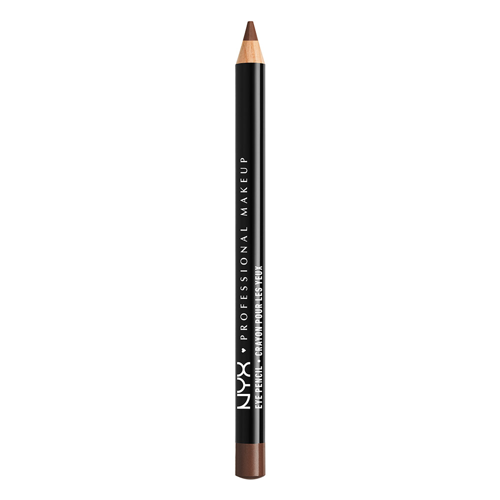 NYX Professional Makeup krémová ceruzka na oči - Slim Eye Pencil – Dark Brown (SPE903)