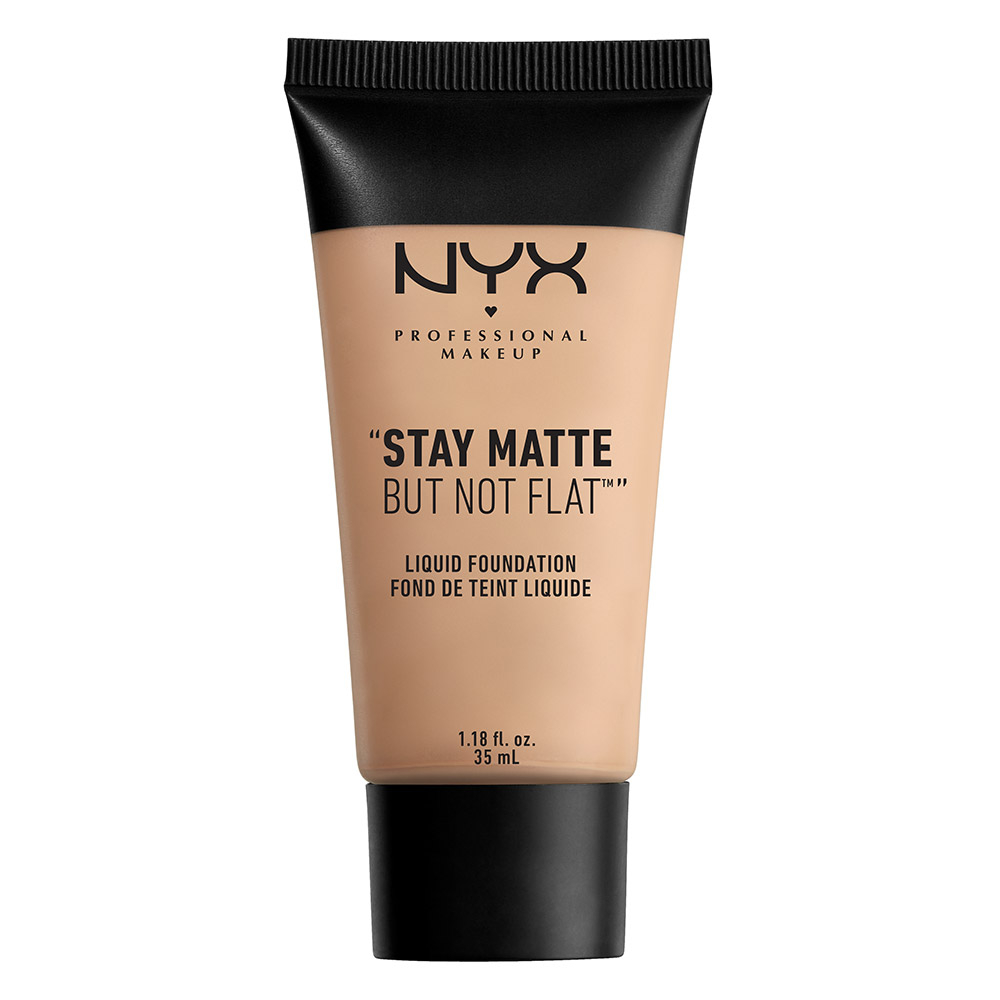 NYX Professional Makeup tekutý make-up - Stay Matte But Not Flat Liquid Foundation – Nude Beige (SMF01PT7)