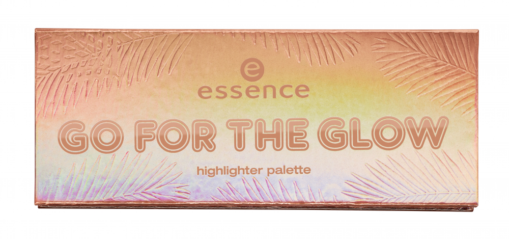 essence палитра с хайлайтъри - Choose Your Power – Go To The Glow Highlighter Palette - 02 The Warms
