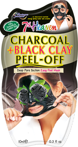 Montagne Jeunesse njegujuća maska – Charcoal & Black Clay Peel-Off Face Mask