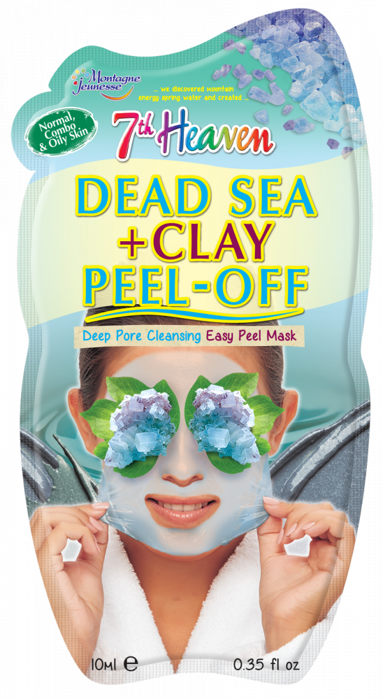 Montagne Jeunesse pleťová maska – Dead Sea & Clay Peel-Off Face Mask