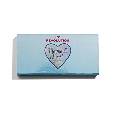 I Heart Revolution paleta senčil - Eyeshadow Palette – Mermaid's Heart
