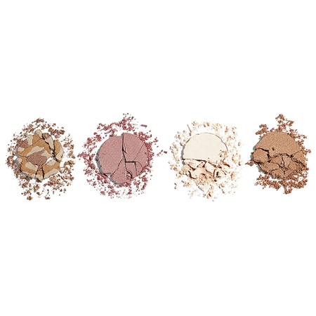 I Heart Revolution highlighter paletta - Highlighter Wardrobe