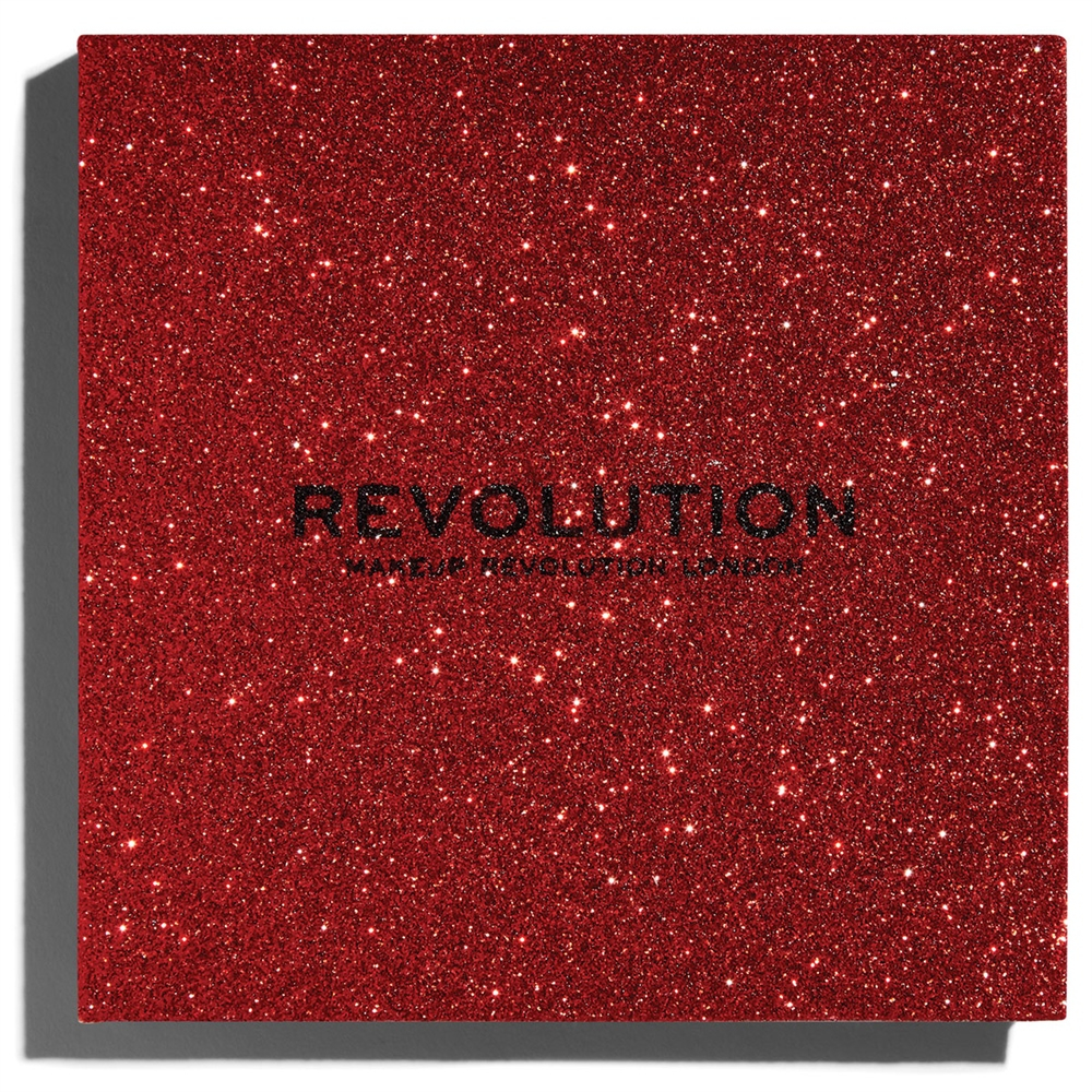 Revolution paleta z bleščicami – Pressed Glitter Palette – Hot Pursuit