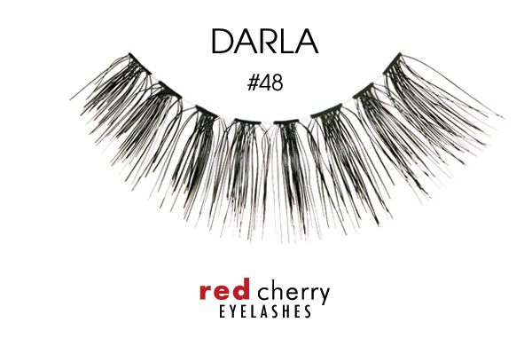 Red Cherry Eyelashes gene false – False Eyelashes – Darla