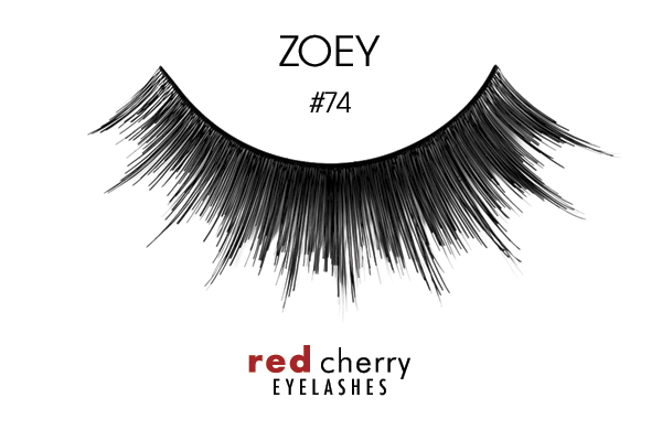 Red Cherry Eyelashes изкуствени мигли – False Eyelashes – Zoey
