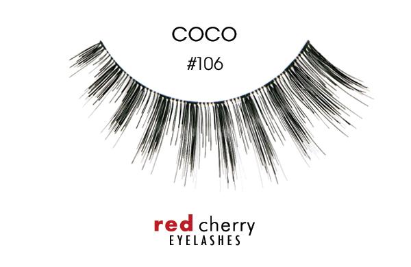 637dd70f926 1 PAIR * NEW RED CHERRY 100% Human Hair False Eye Lashes · Red False  Eyelashes: Red Cherry Eyelashes Umetne Trepalnice