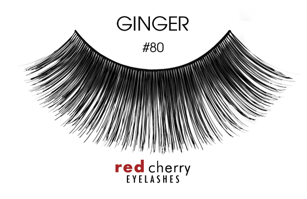 Red Cherry Eyelashes umelé mihalnice – False Eyelashes – Ginger