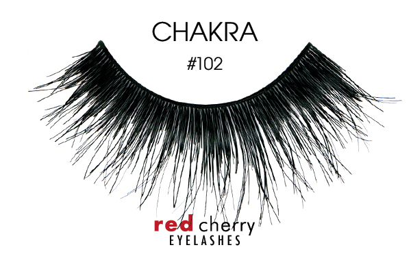 Red Cherry Eyelashes umělé řasy – False Eyelashes – Chakra