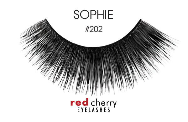 Red Cherry Eyelashes umelé mihalnice – False Eyelashes – Sophie