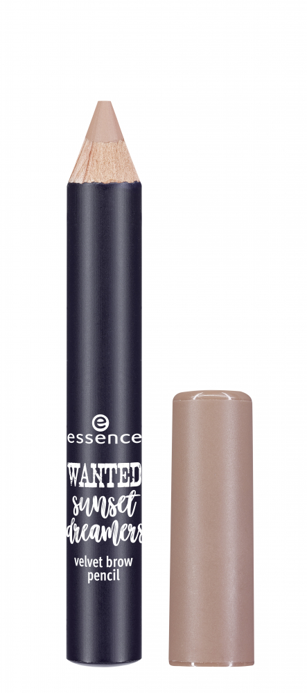 essence молив за вежди - Wanted: Sunset Dreamers – Velvet Brow Pencil – 01 Sunshine On My Mind