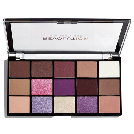 REVOLUTION paleta očných tieňov - Re-Loaded Palette - Visionary