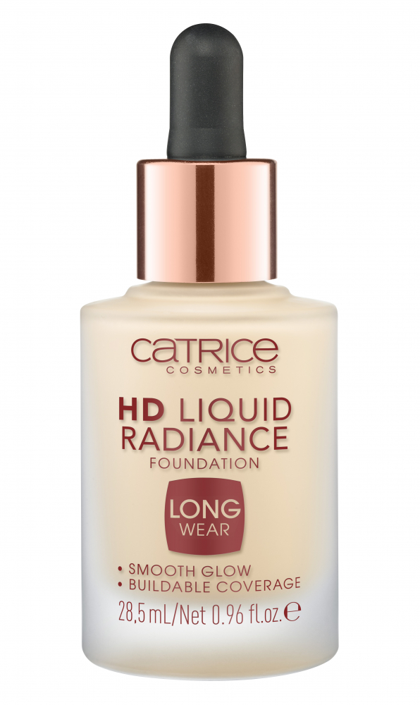 CATRICE tekutý make-up - HD Liquid Radiance Foundation – 010 Light Beige