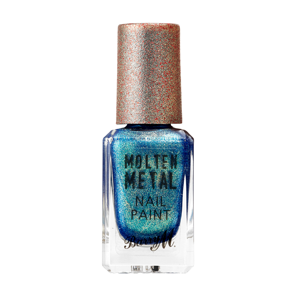 Barry M körömlakk - Molten Metal Nail Paint 17 Crystal Blue