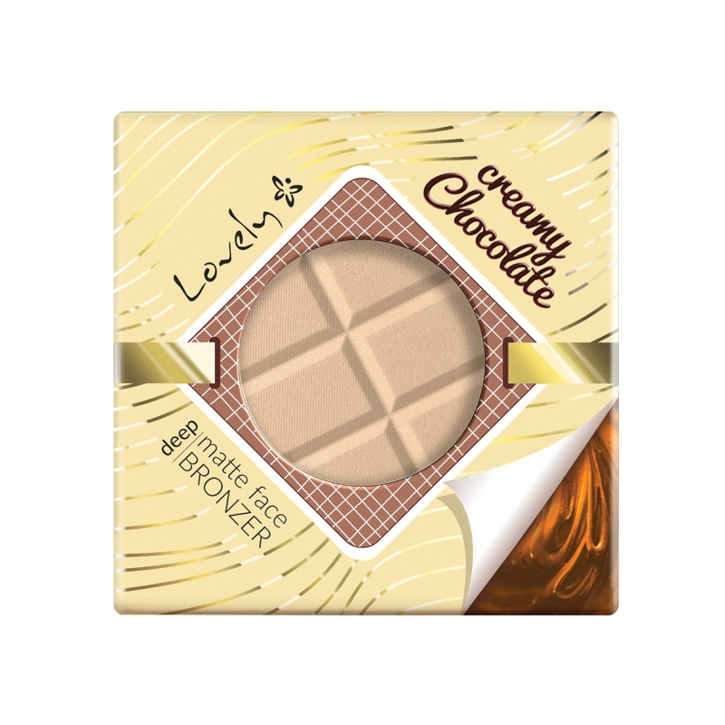 Lovely pudra compacta - Bronzer – Creamy Chocolate