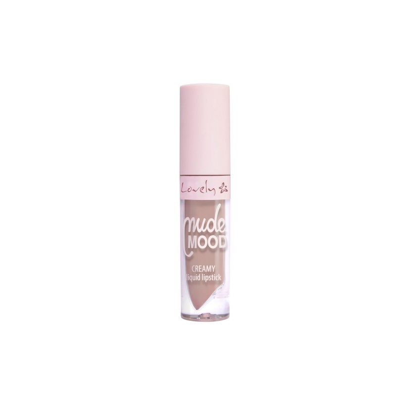 Lovely Nude Mood Creamy Liquid Lipstick - Folyékony rúzs