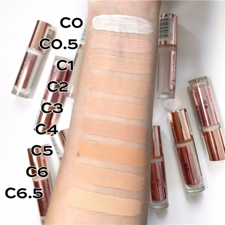 Revolution krémový korektor - Conceal And Define Concealer – C6.5