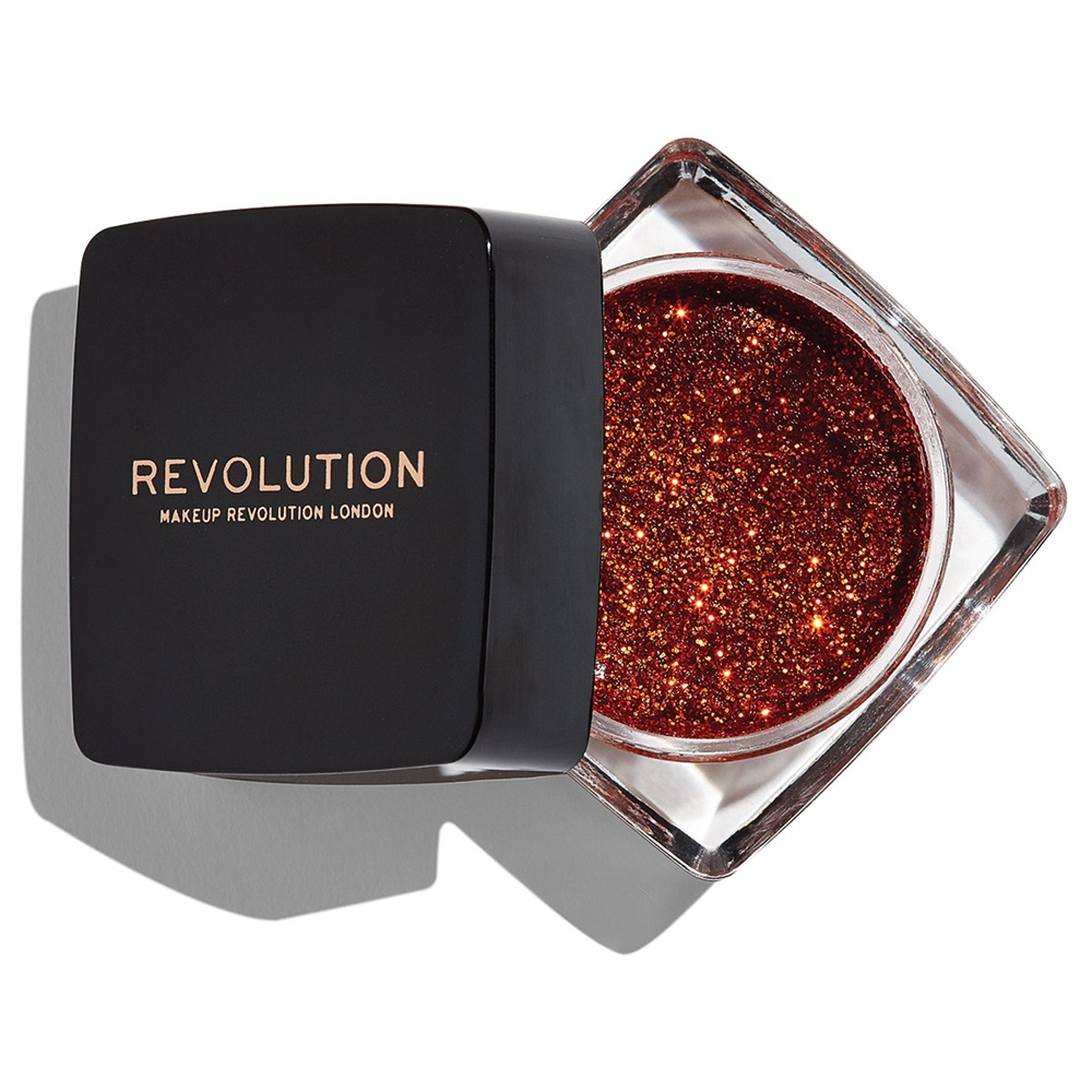 Revolution tekuće šljokice – Glitter Paste – Feels Like Fire