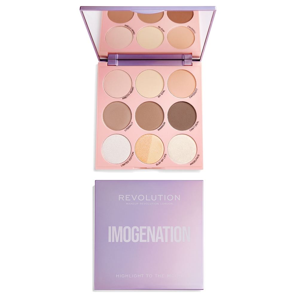 Revolution Makeup-Palette - Revolution X Imogenation Highlight To The Moon